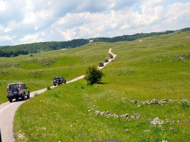 JEEP SAFARI ON LOVĆEN